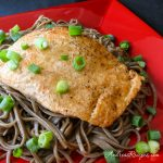 Japanese Salmon with Soba - Andrea Meyers