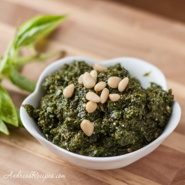 Basic Basil Pesto - Andrea Meyers