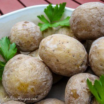 Salt Potatoes - Andrea Meyers