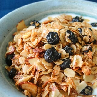 Blueberry Granola - Andrea Meyers