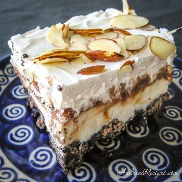 Layered Ice Cream Dessert - Andrea Meyers