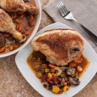 Chicken Cacciatore - Andrea Meyers