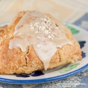 Maple Oatmeal Scones - Andrea Meyers