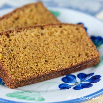 Spiced Pumpkin Bread - Andrea Meyers