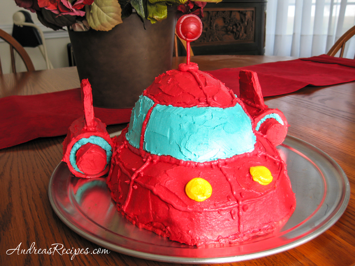 Little Einsteins Rocket Birthday Cake - Andrea Meyers