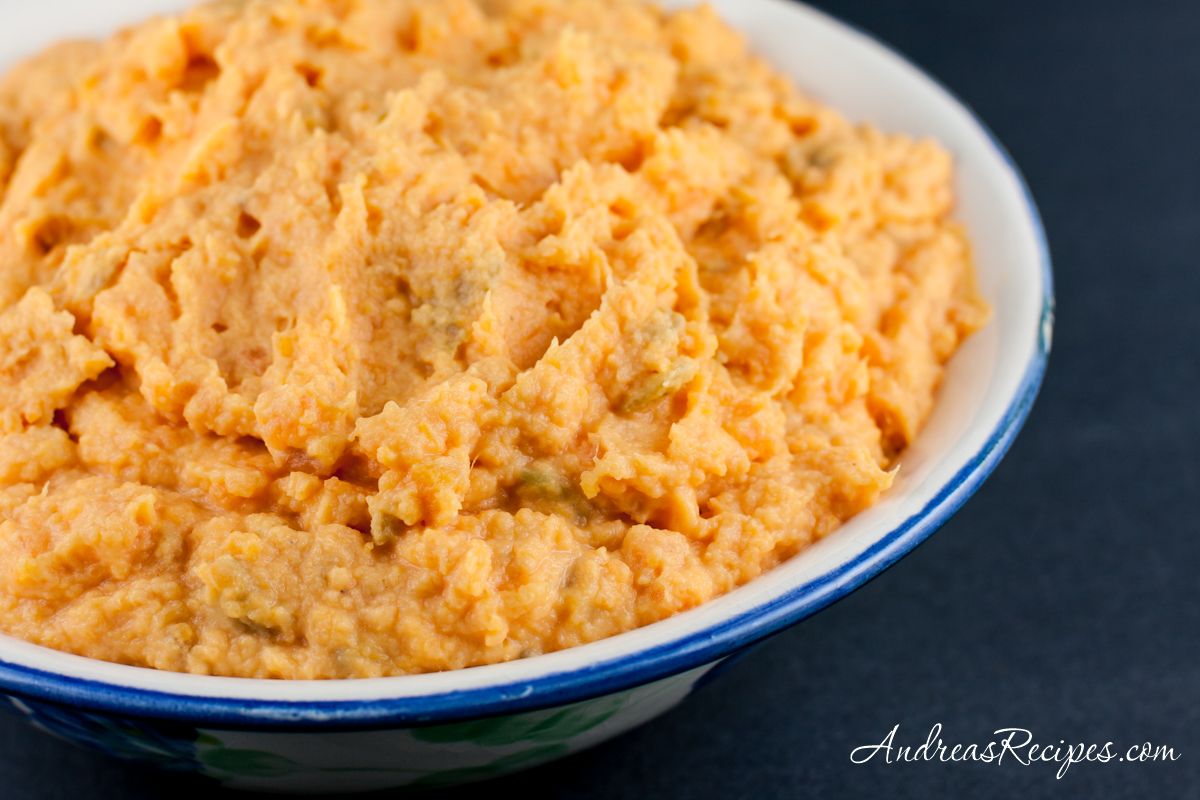 Mashed Sweet Potatoes with Chiles - Andrea Meyers