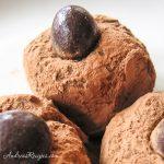 Milk Chocolate Kahlúa Truffles - Andrea Meyers