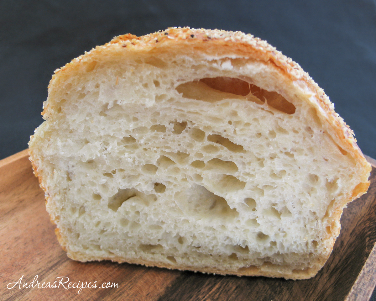 No-Knead Bread, crumb - Andrea Meyers
