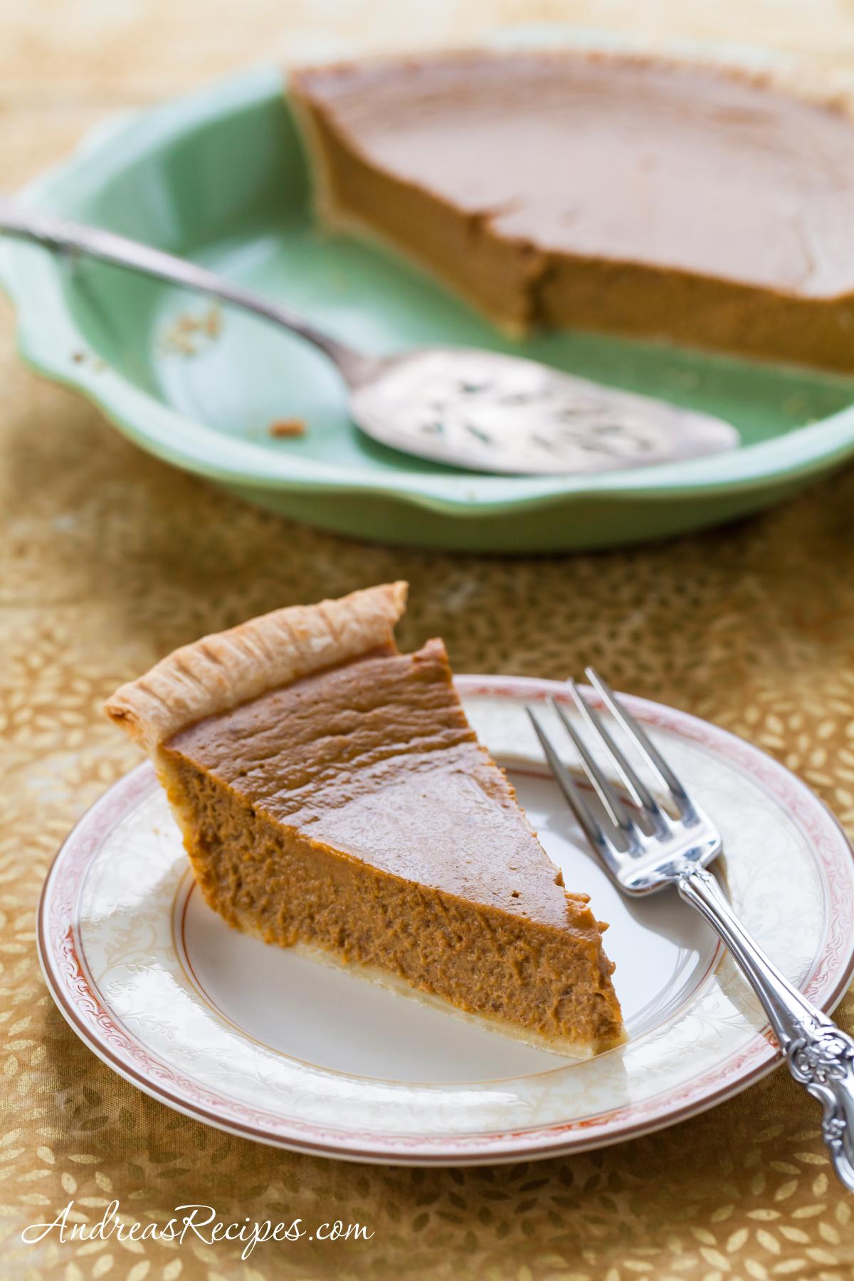 Pumpkin Pie - Andrea Meyers
