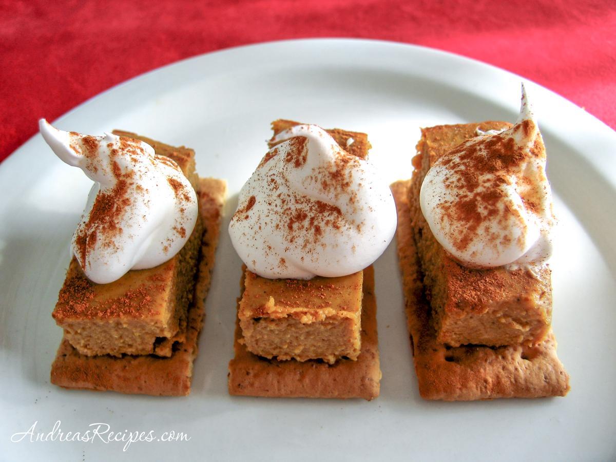 Pumpkin Pie Cookie Bites - Andrea Meyers