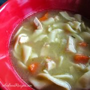 Turkey Noodle Soup - Andrea Meyers
