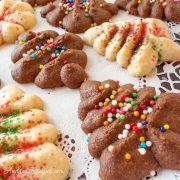Cream Cheese Spritz Cookies - Andrea Meyers