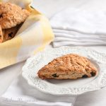 Cherry Sour Cream Scones - Andrea Meyers