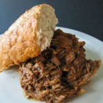 Slow-Cooker Pulled Pork with Chipotle BBQ Sauce - Andrea Meyers