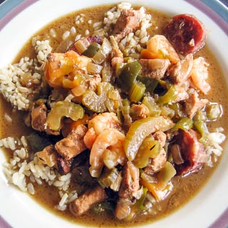 Empty the Freezer Gumbo