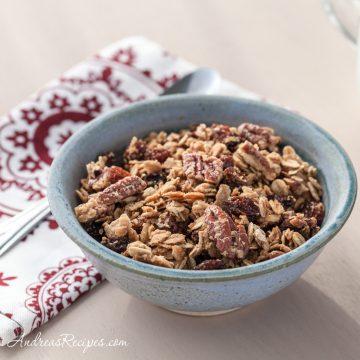 Maple Pecan Granola - Andrea Meyers