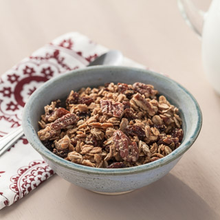 Maple Pecan Granola - Andrea Meyers