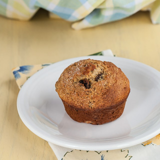 Maple Raisin Bran Muffins