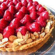 Strawberry Cream Tart - Andrea Meyers