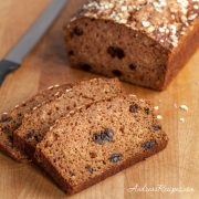 Apple Cinnamon Oatmeal Bread - Andrea Meyers