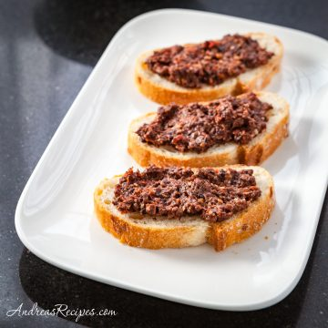 Sun-Dried Tomato Tapenade - Andrea Meyers