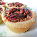 Mini Chocolate Pecan Pies - Andrea Meyers