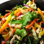 Asian Cabbage Salad - Andrea Meyers