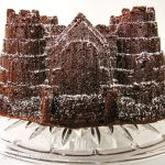 Chocolate Birthday Cake in a castle Bundt pan - Andrea Meyers