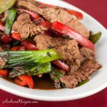 Beef and Bell Pepper with Black Bean Sauce - Andrea Meyers