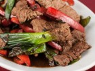 Beef and Bell Pepper with Black Bean Sauce Recipe - Andrea Meyers