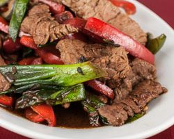 Beef and Bell Pepper with Black Bean Sauce