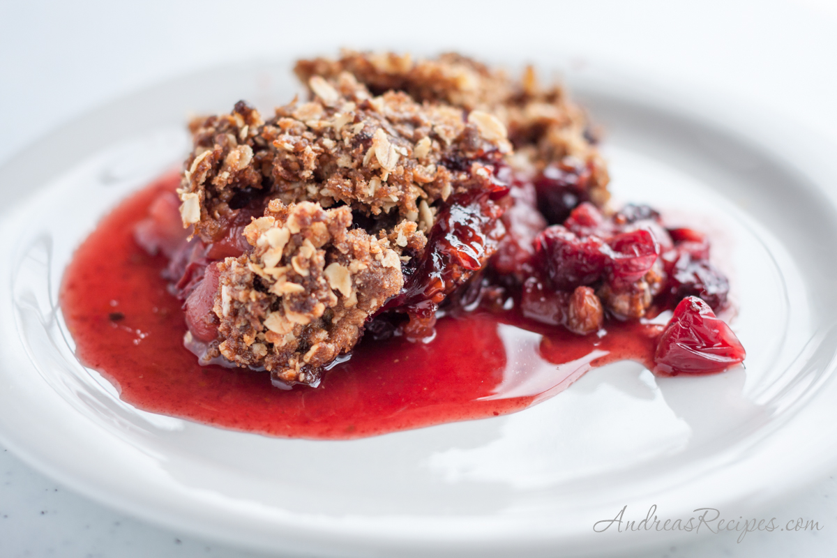 Cranberry Apple Raisin Crisp - Andrea Meyers