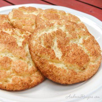 Snickerdoodles Cookies - Andrea Meyers