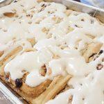 Cinnamon Rolls with Cream Cheese Glaze - Andrea Meyers