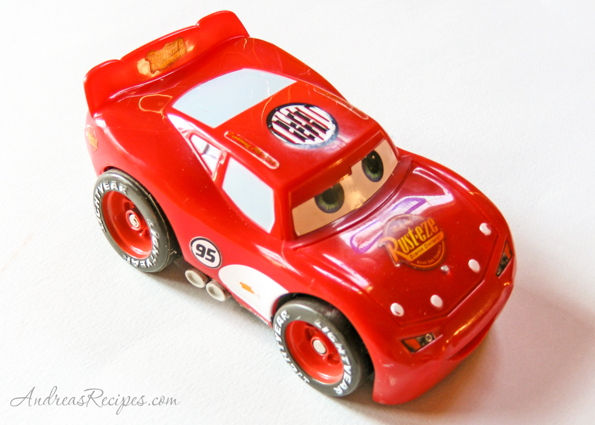 Lightning McQueen Birthday model car - Andrea Meyers