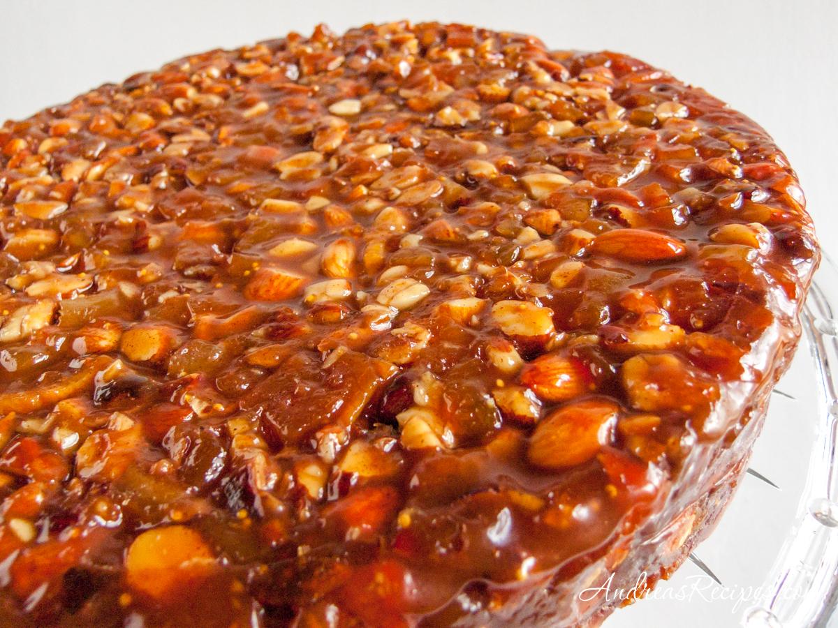 Panforte di Siena (Italian Fruit Cake) - Andrea Meyers