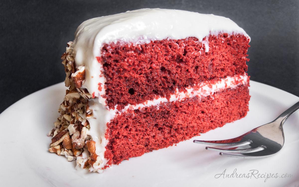 Red Velvet Cake - Andrea Meyers