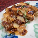Chicken with Sun-Dried Tomatoes, Shallots, and Thyme - Andrea Meyers