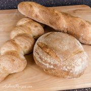 Julia Child's French Bread (batard, boule, epi) - Andrea Meyers