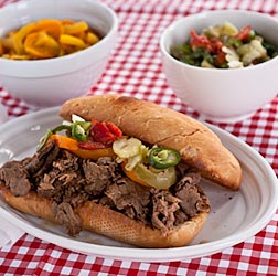 Italian Beef Sandwiches Recipe - Andrea Meyers