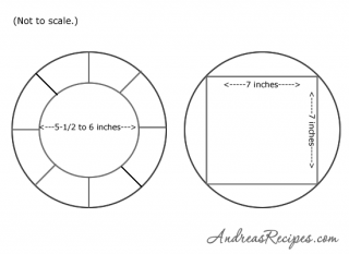 Easter Bunny Cake diagrams - Andrea Meyers