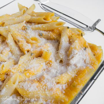 Roasted Butternut Squash with Penne - Andrea Meyers