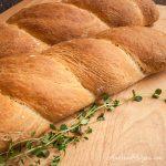 Italian Herb Twist Bread (pane alle erbi) - Andrea Meyers