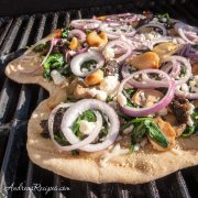 White Grilled Pizza - Andrea Meyers
