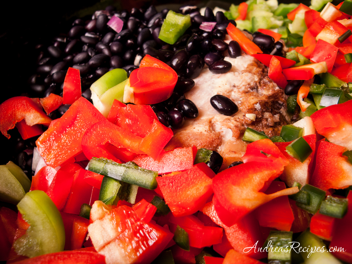 Peppers and black beans - Andrea Meyers