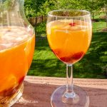 White Sangria with Amaretto - Andrea Meyers