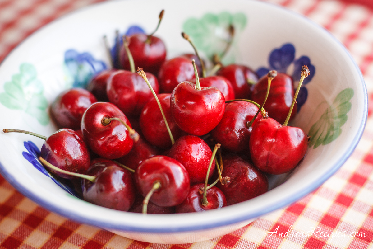 Cherries in a bowl - Andrea Meyers