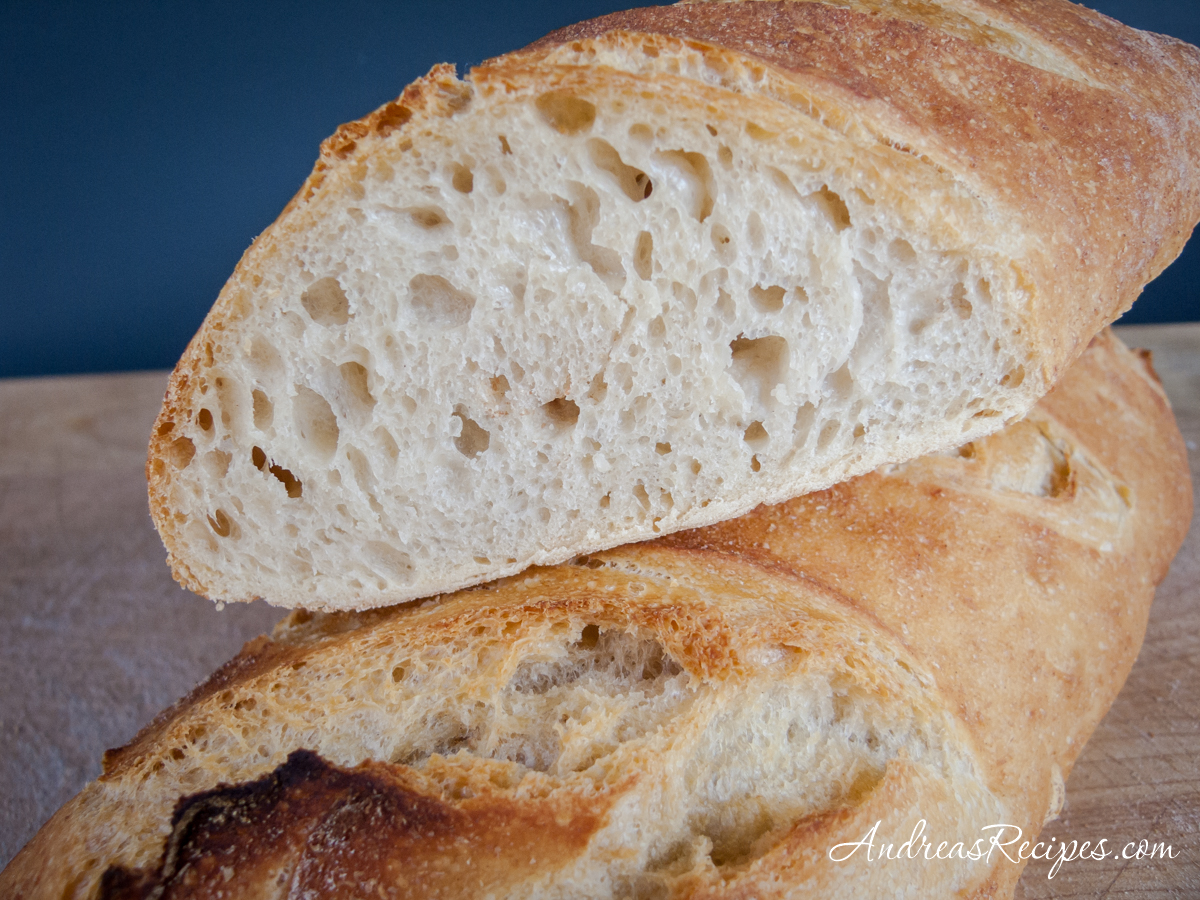 Easy Daily Batard, showing the crumb - Andrea Meyers