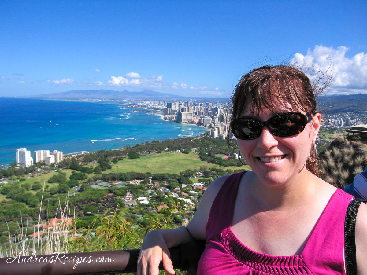 Andrea at Diamond Head, Hawaii - Andrea Meyers