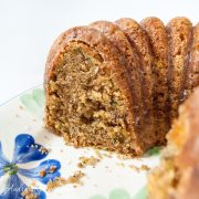 Zucchini-Olive Oil Cake with Lemon Crunch Glaze - Andrea Meyers